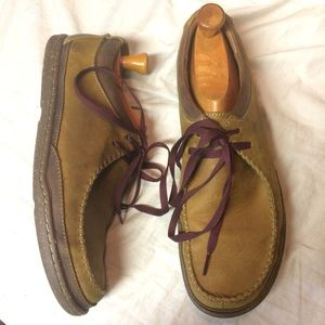 Clark's 1825 Trapell Pace 11 brown leather shoes